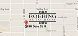 Directions to Roering Auto Body in St Paul MN